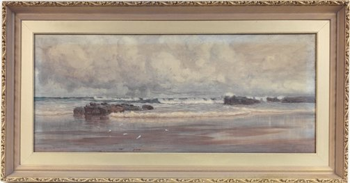 An image of (Seascape) by W Lister Lister