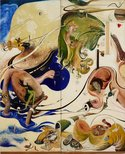 Alternate image of Alchemy by Brett Whiteley