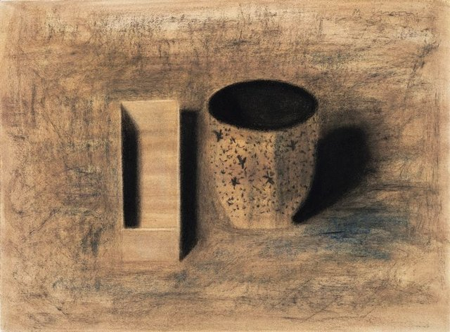 An image of Still life with box