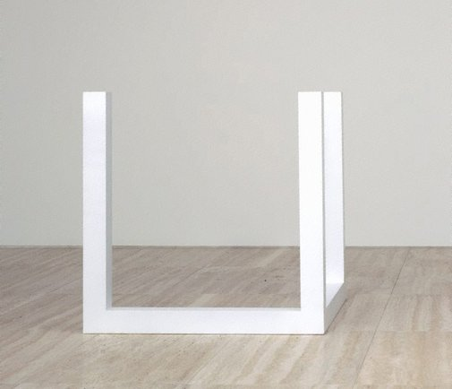 An image of Incomplete open cube 5/8 by Sol LeWitt