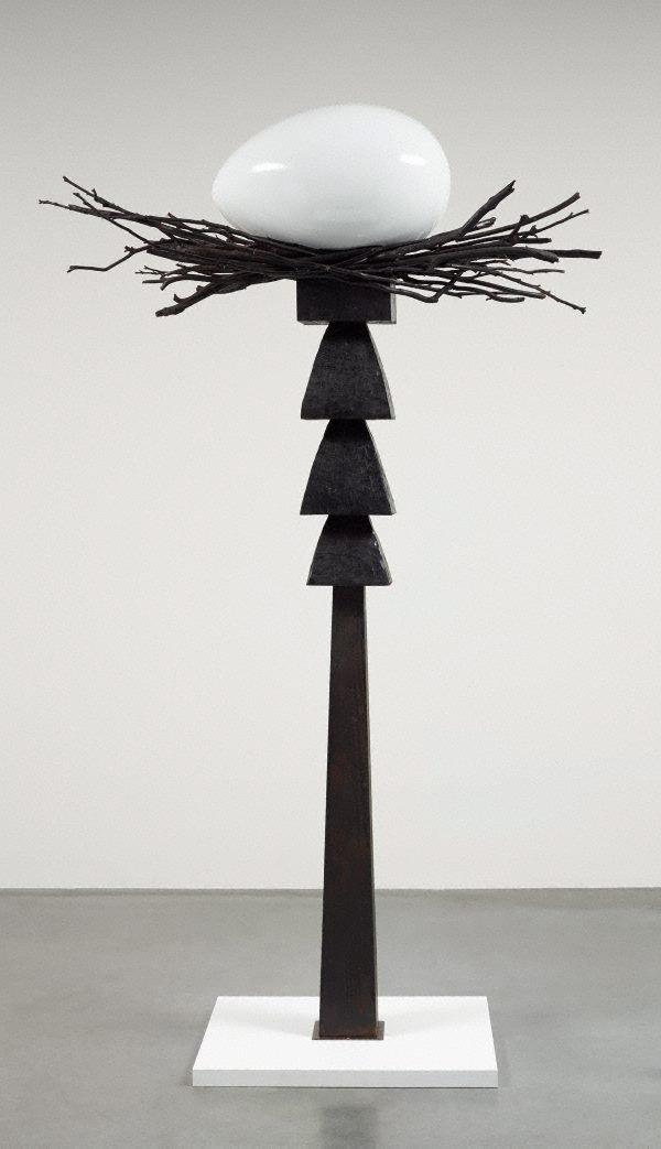Totem I (black - the get laid totem), (1978-1988) by Brett Whiteley