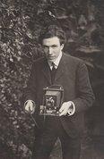 Self portrait - Harold Cazneaux, 1904 by Harold Cazneaux