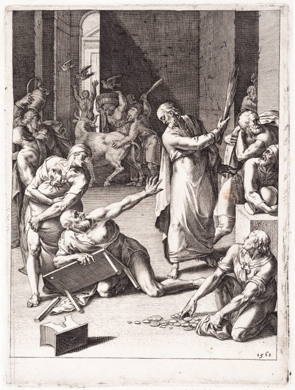 An image of The expulsion from the Temple