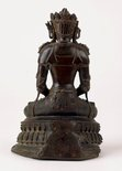 Alternate image of Seated crowned Buddha by