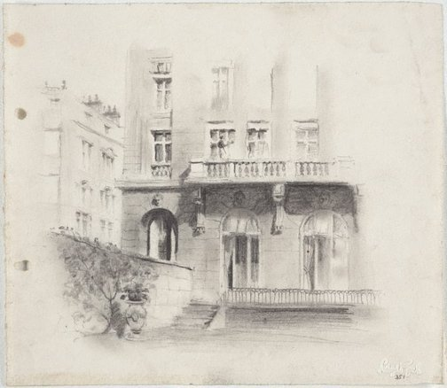An image of House in Paris? by Lloyd Rees