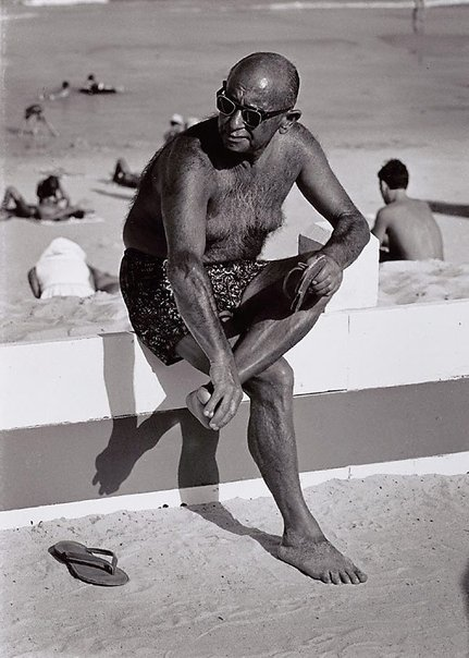 An image of The Sunbather by Jeff Carter