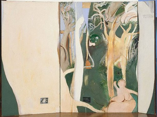 An image of The bush by Brett Whiteley