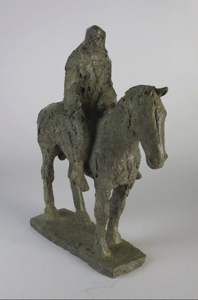 An image of Horse and rider by Dame Elisabeth Frink
