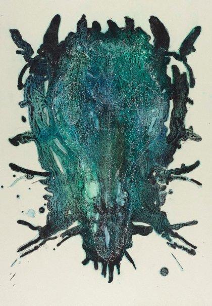 An image of Skull lily no.2 (kangaroo) by Tony Ameneiro