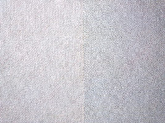 Alternate image of Wall drawing #337: Two part drawing. The wall is divided vertically into two parts. Each part is divided horizontally and vertically into four equal parts. 1st part: Lines in four directions, one direction in each quarter. 2nd part: Lines in four directions, superimposed progressively. by Sol LeWitt