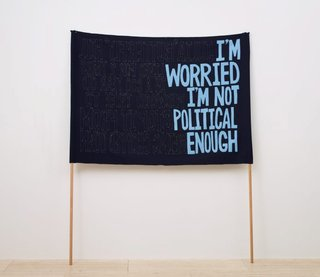 AGNSW collection Raquel Ormella I'm worried I'm not political enough (Julie) 1999-2009