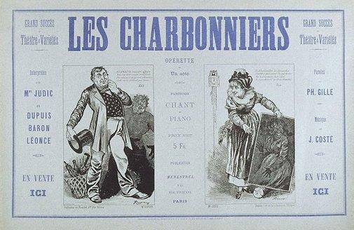 An image of Les Charbonniers by Frédéric Régamy