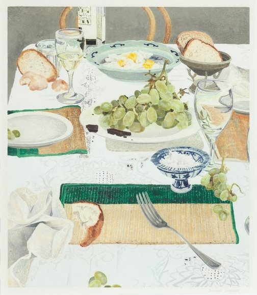 An image of After lunch by Cressida Campbell