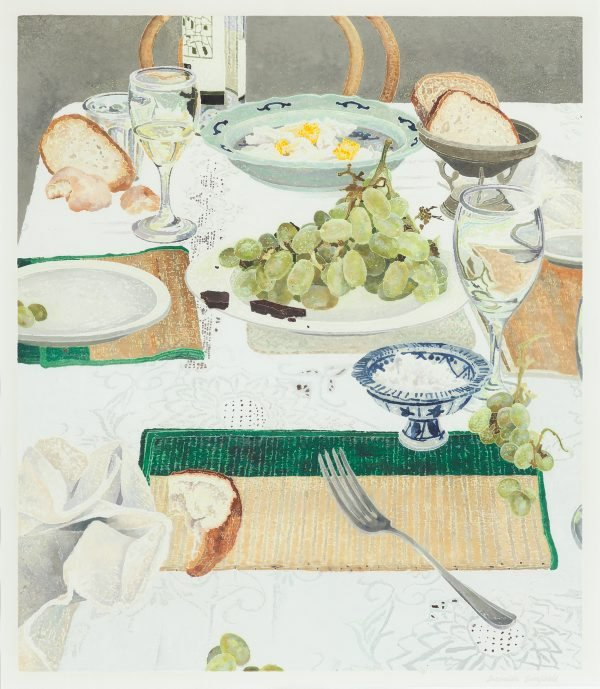 After lunch, (2002) by Cressida Campbell
