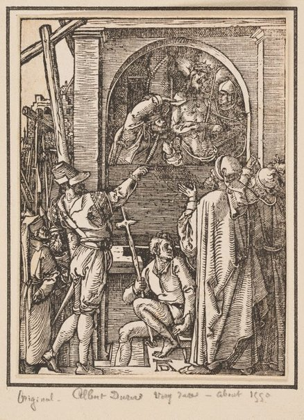 An image of Ecce Homo by Mommard, after Albrecht Dürer
