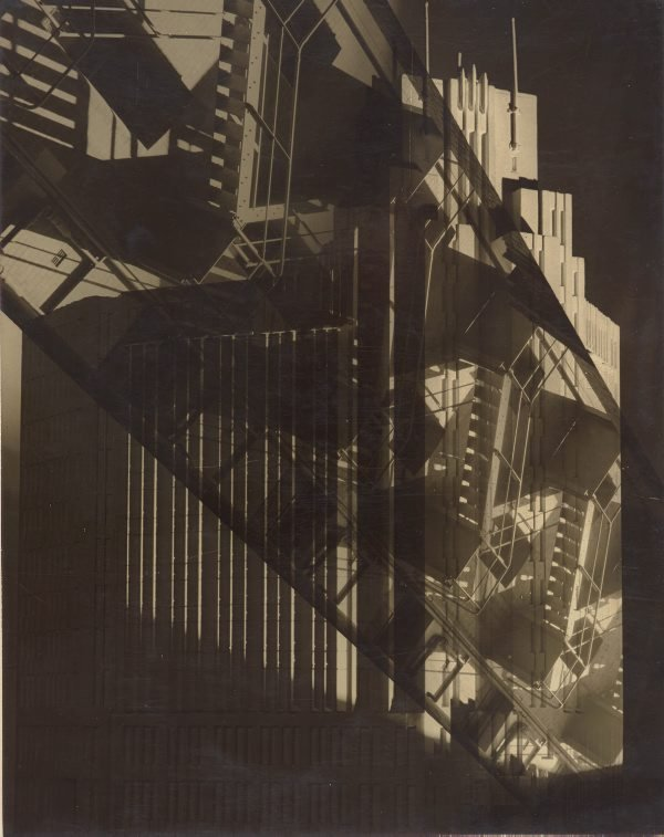 An image of (fire stairs at Bond St)