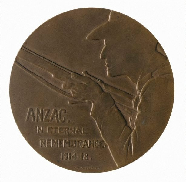 An image of Anzac medal