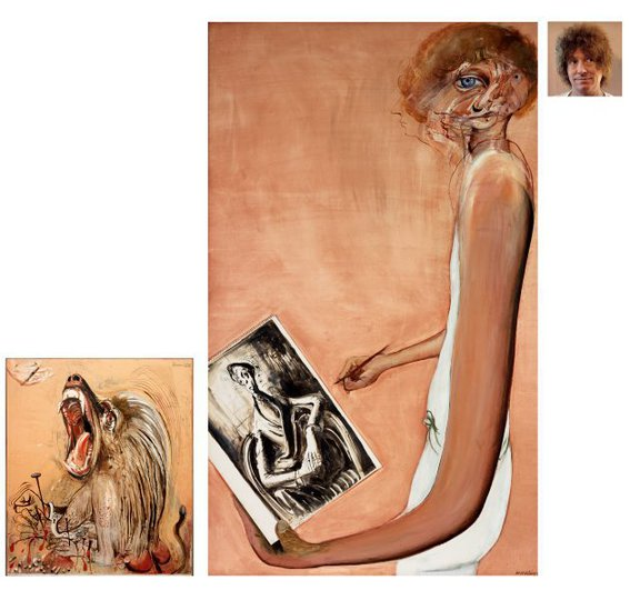 AGNSW prizes Brett Whiteley Art, life and the other thing, from Archibald Prize 1978