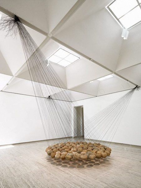 An image of Suspended stone circle II by Ken Unsworth
