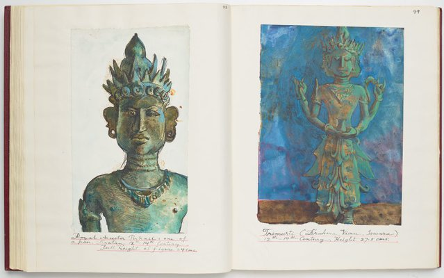 Alternate image of Ayam Kesayangan II - Balinese Ancestral Bronzes by Donald Friend