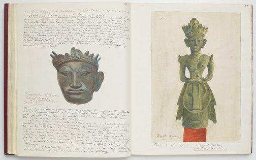 An image of Ayam Kesayangan II - Balinese Ancestral Bronzes by Donald Friend