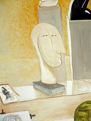 Alternate image of Portrait of Joel Elenberg by Brett Whiteley