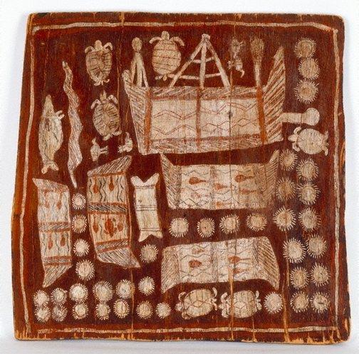 An image of Untitled by attrib. Woŋgu Munuŋgurr