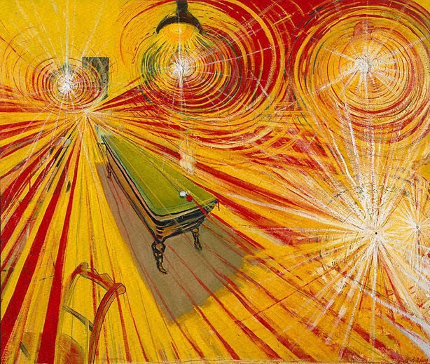 The night café, (1971-1972) by Brett Whiteley