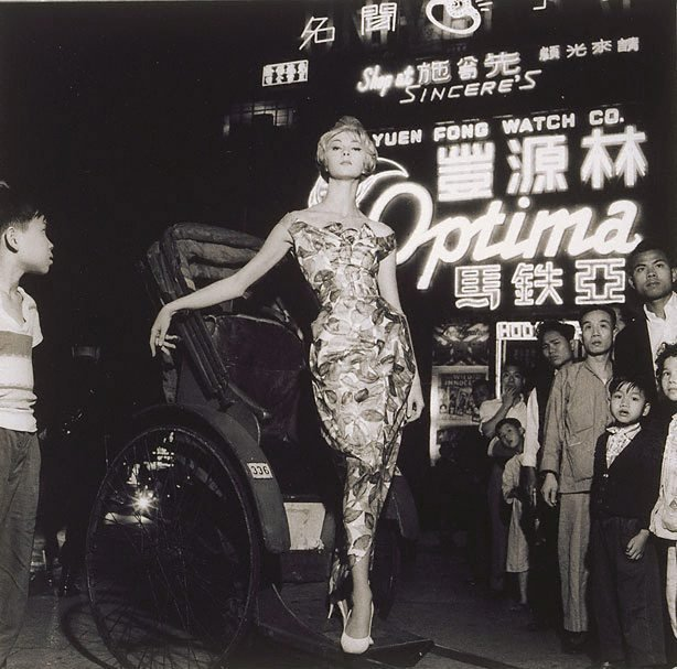 An image of Janice Wakely in Hong Kong