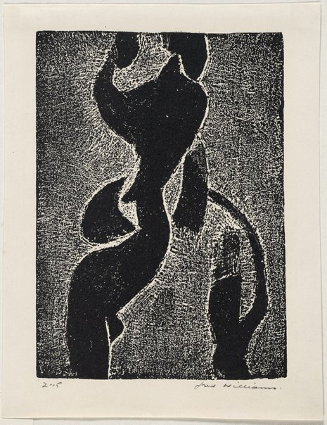 An image of Standing figure by Fred Williams