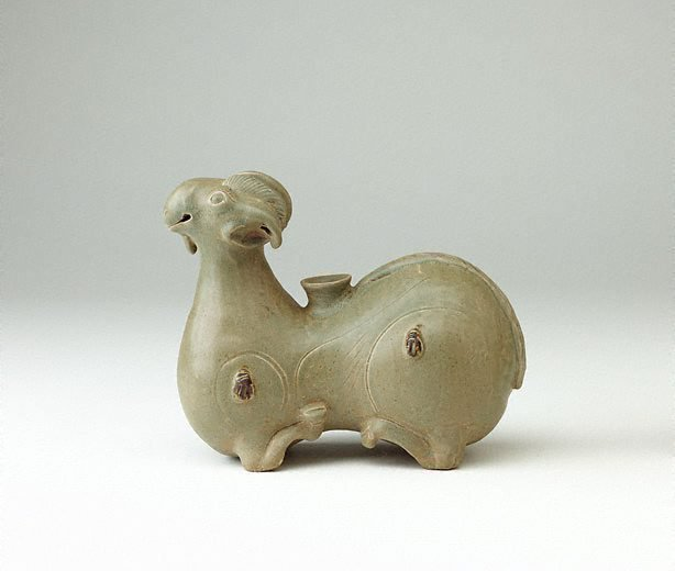 An image of Ram-shaped candle holder