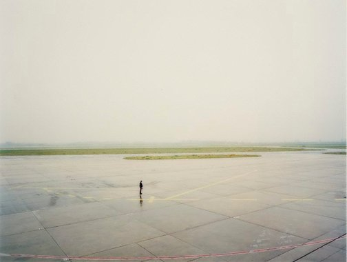 An image of Dusseldorf, Flughafen II by Andreas Gursky