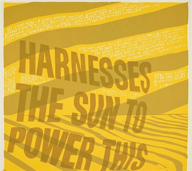 An image of harness the sun