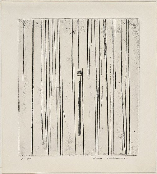 An image of Sherbrooke Forest number 1 by Fred Williams
