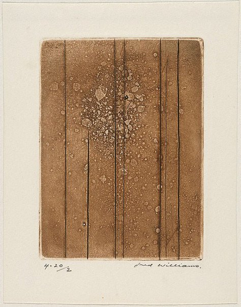 An image of Sherbrooke Forest number 3 by Fred Williams