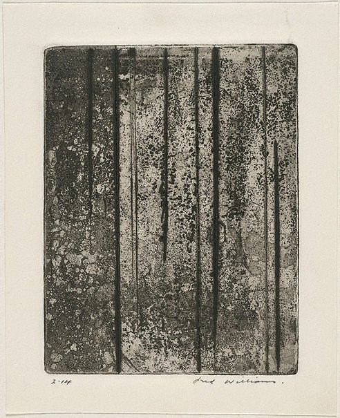 An image of Sherbrooke Forest number 5 by Fred Williams