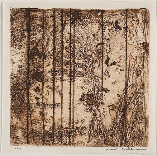 An image of Sherbrooke Forest number 7 by Fred Williams