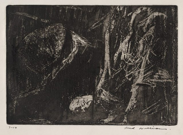 An image of Rocks and bush, Mittagong