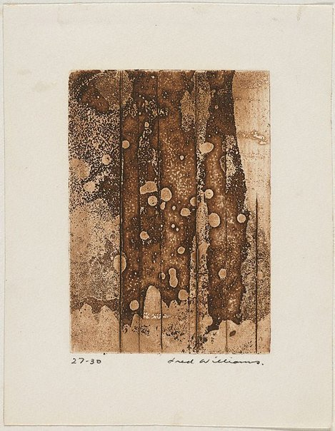 An image of Landscape panel number 1 by Fred Williams