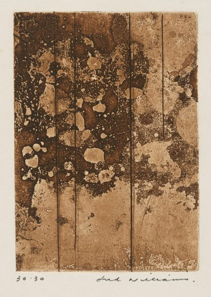 An image of Landscape panel number 3 by Fred Williams