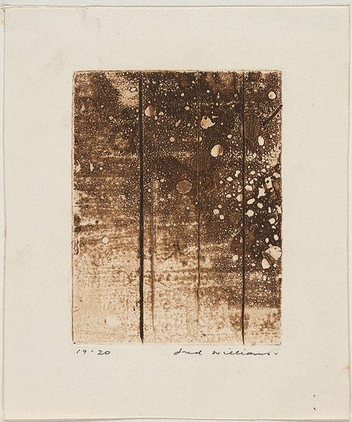 An image of Landscape panel number 4 by Fred Williams
