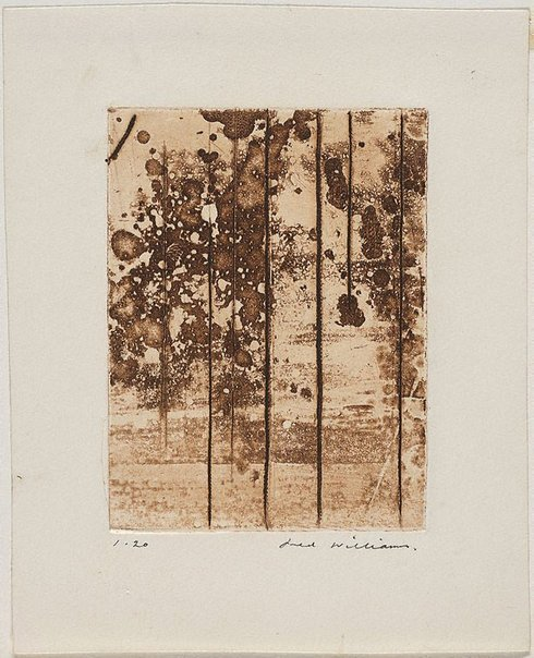 An image of Landscape panel number 5 by Fred Williams