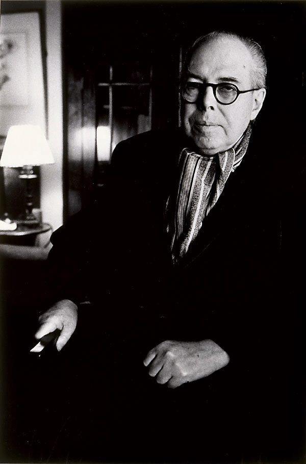An image of Wyndham Lewis, writer, artist, art critic, UK