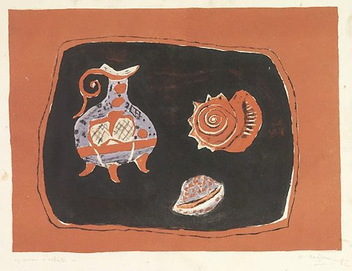 An image of Untitled (Still life) by Henri Hayden