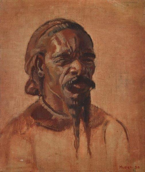 An image of (Portrait of an Aboriginal man) by Arthur Murch