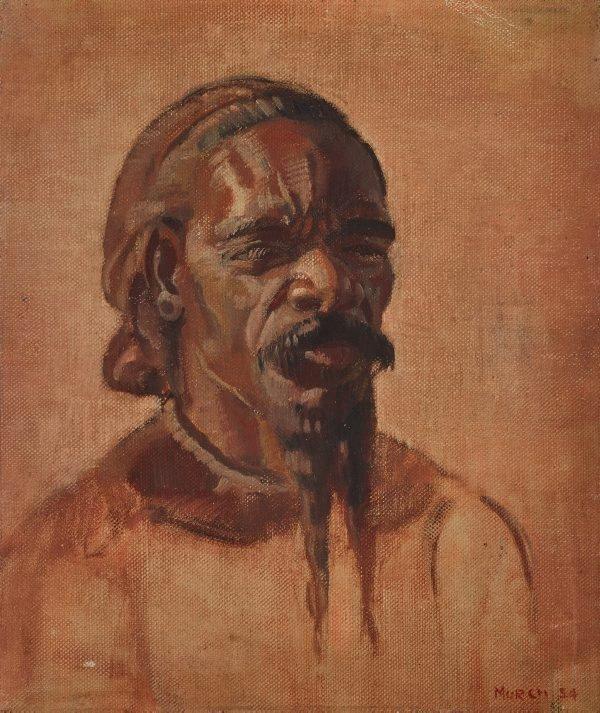 An image of (Portrait of an Aboriginal man)