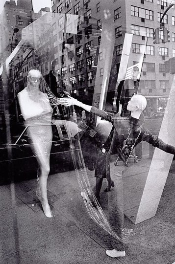 AGNSW collection David Moore Store window with reflections, New York (1974, printed 1997) 36.2004