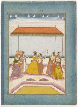 AGNSW collection Holi Festival 1750-1800