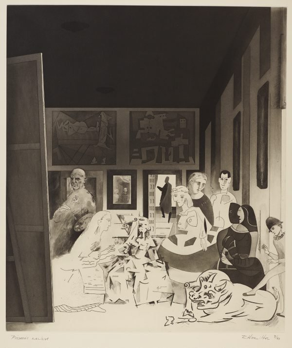 An image of Picasso's meninas