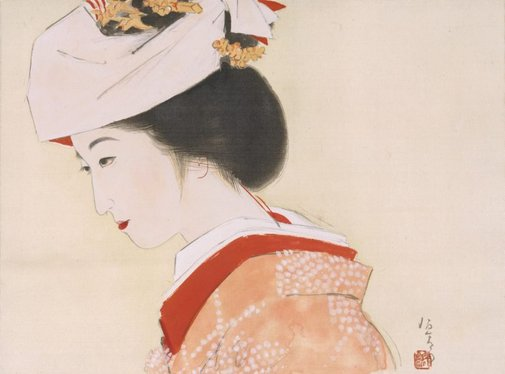 An image of Bride by Kitano Tsunetomi